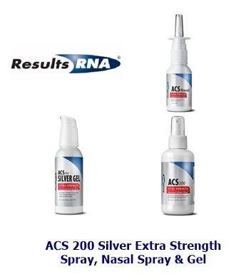 Acs 200 Silver Spray Nasal Spray Amp Gel By Results Rna
