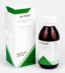 Apo-Pulm 250ml Syrup (previously 125ml) Expectorant Syrup  by Pekana Homeopathic Spagyrics