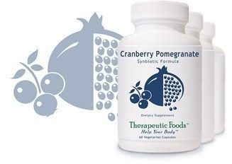Cranberry Pomegranate Synbiotic Formula 60caps w/30.BillionCFU Probiotics by BioImmersion