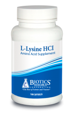L-Lysine HCl (Amino Acid) (100 C) by Biotics Research