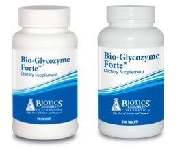 Bio-Glycozyme Forte  in 2 Sizes  by Biotics Research
