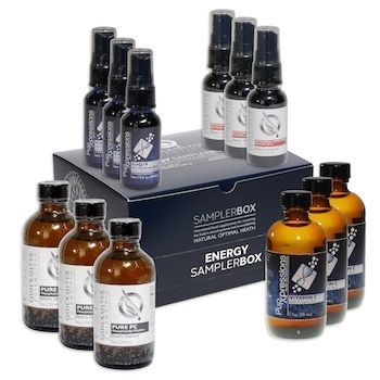 Energy Sampler Pack by Quicksilver Scientific