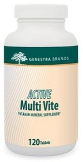 Active Multi Vite  120tabs  by Genestra