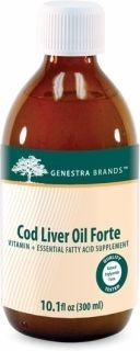 Cod Liver Oil Forte  300ml(10fl.oz)  by Genestra