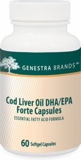 Cod Liver Oil DHA/EPA Forte  60caps  by Genestra
