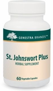 St. Johnswort Plus  60caps  by Genestra