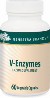 V- Enzymes  60caps  by Genestra