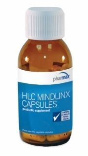 HLC MindLinx 60caps w/12.BillionCFU HumanSourced Probiotics by pHARMAx