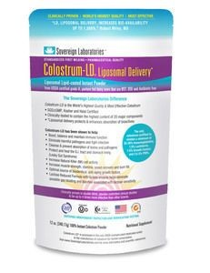 Colostrum LD Powder Liposomal Delivery 12 oz. (343 grams) by Sovereign Labs
