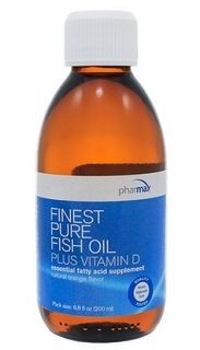 Finest Pure Fish Oil + Vit D  200ml(6.8fl.oz)  by pharmaX