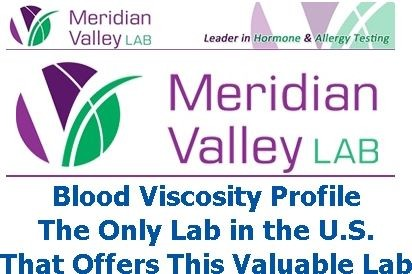 Blood Viscosity Profile by Meridian Valley Lab