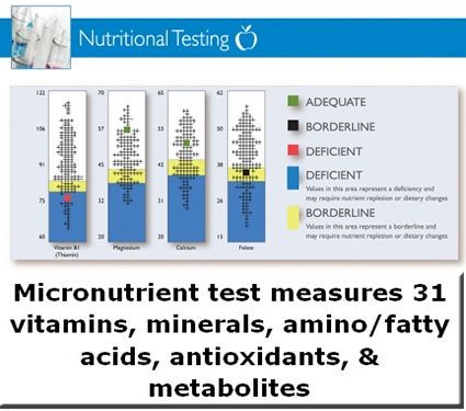 Micronutrient Test by SpectraCell Laboratories