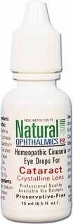 Crystalline Lens - Cineraria Eye Drops (Cataract) 15ml by Natural Ophthalmics Rx