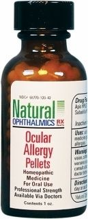 Ocular Allergy Pellets 1oz by Natural Ophthalmics Rx