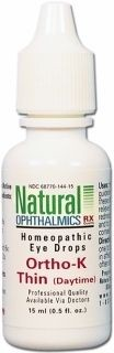 Ortho-K Thin (Daytime) Eye Drops 15ml by Natural Ophthalmics Rx
