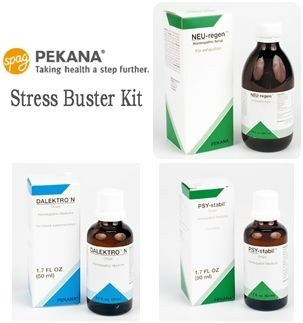 Stress Buster Kit 3x 50ml  by Pekana Homeopathic Spagyrics